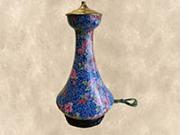 Blue Cloisonne Lamp