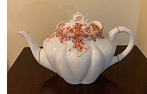 Shelley large Dainty Orange teapot