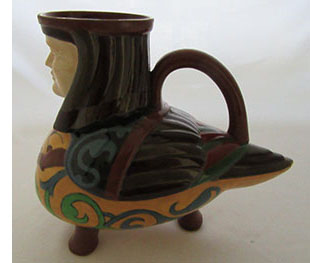 wileman egyptian man jug