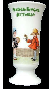 fake mabel lucie attwell vase