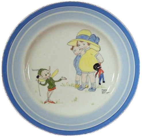 Fake Plate Blue