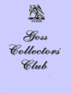 Goss collectors club logo