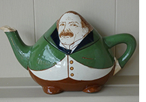 Wileman Foley Intarsio Lloyd George tea pot
