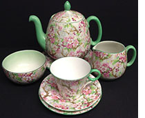 A shelley tea for one det in Maytime pattern