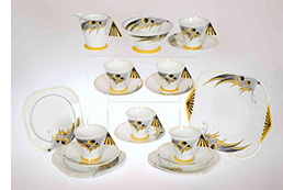 Shelley Mode Butterfly Wings tea service no.11758