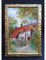 Shelley country cottage plaque