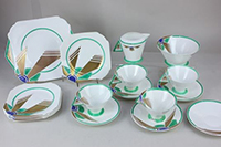 Vogue Sunray part tea set