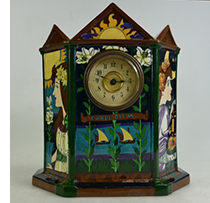 Wileman 3 sided clock - Carpe Diem