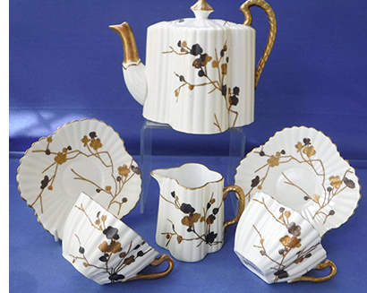 Wileman Alexandra tea for two set