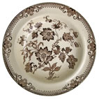 Chinese Plant Pattern Plate