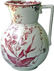 Flower Sprays Pattern Ewer