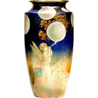 Lustreware Vase_Fairies