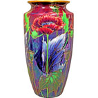 Lustreware Vase_Poppies
