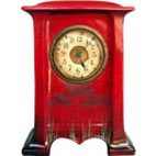 Flamboyant large clock