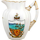 Badged Ware Miniature Jug 'Largs'