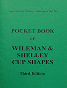 Pocket Book of Wileman & Shelley Cup Shapes