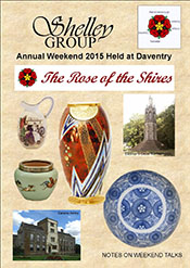 Shelley Weekend Talks Daventry 2015