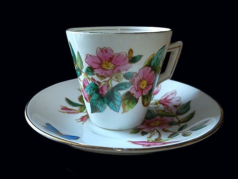 Victoria Roses Cup & Saucer